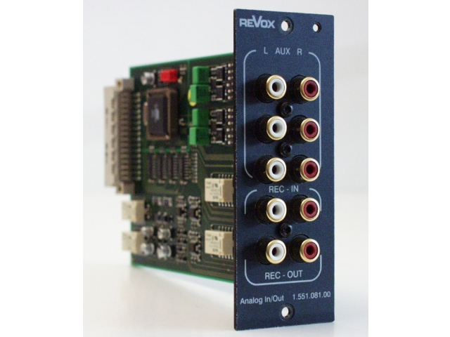 Revox Re:source I/O Modul