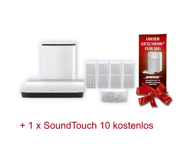 Bose Lifestyle 600 + SoundTouch 10