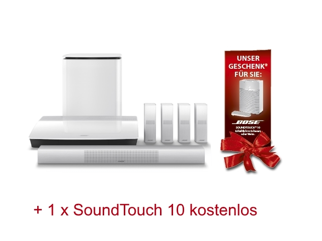 Bose Lifestyle 650 + SoundTouch 10