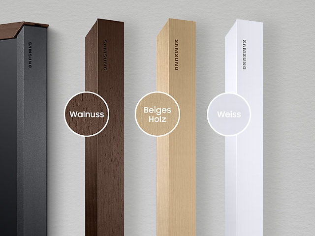 Samsung The Frame 55 Rahmen Beige Holz