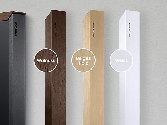 Samsung The Frame 43 Rahmen Beige Holz